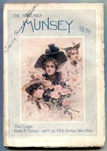The Munsey Pulp September 1895- Sports- Theater- Fiction