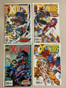 X-Calibre set from:#1-4 Marvel 4 different books 6.0 FN (1995)