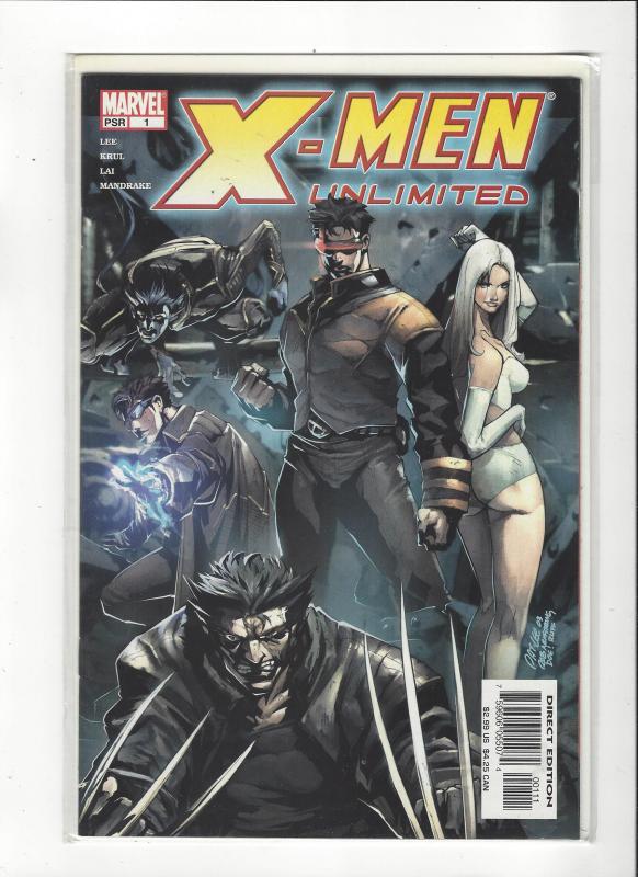 X-men Unlimited Vol 2 #1 New X-men NM