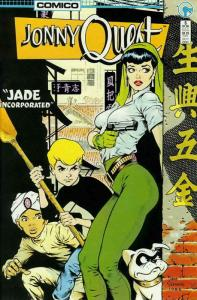 Jonny Quest (Comico) #5 FN; COMICO | save on shipping - details inside