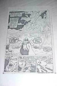 MARVEL COMICS PRODUCTION ART-CONAN #3 P.3-BARRY SMITH