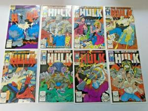 Hulk lot #345 to #399 35 different books average 8.5 VF+ (1988)