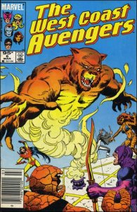 Marvel WEST COAST AVENGERS (1985 Series) #6 VF