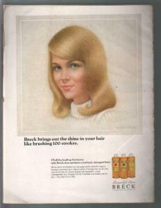 Woman's Day 3/1966-Hair styles-American Federal Furniture-VG