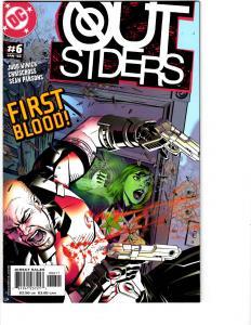 10 Outsiders DC Comic Books # 6 7 8 9 10 11 12 13 14 15 Shazam Nightwing BH10