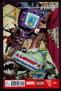 Captain America #24 (7th Series, Nov 2014, Marvel) March to AXIS Tie-In 9.4 NM