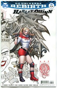 HARLEY QUINN #25, NM, Rebirth, Amanda Conner, Frank Cho, 2016, more HQ in store