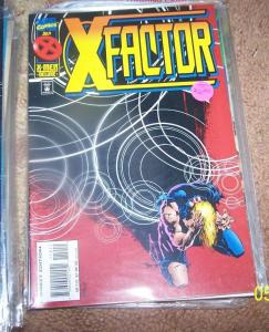 X FACTOR  #112  1995 MARVEL  all new x factor wild child mystique havoc