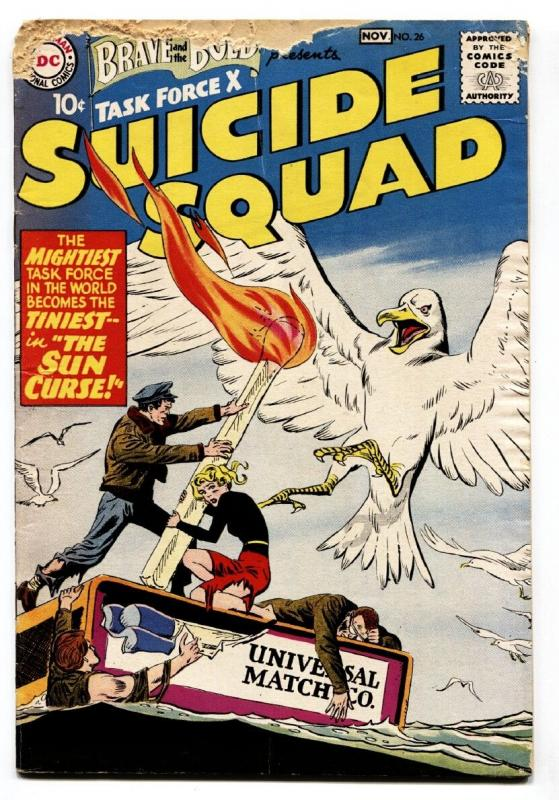 The Brave and the Bold #26 1959- Suicide Squad DC-comic book g