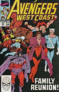 Avengers West Coast #57 FN; Marvel | save on shipping - details inside