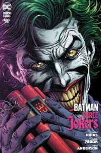BATMAN THREE JOKERS #1 SET OF FIVE COVERS NM.