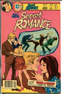 Secret Romance #45 1979-Charlton-spicy art-end of run issue-rare-NM
