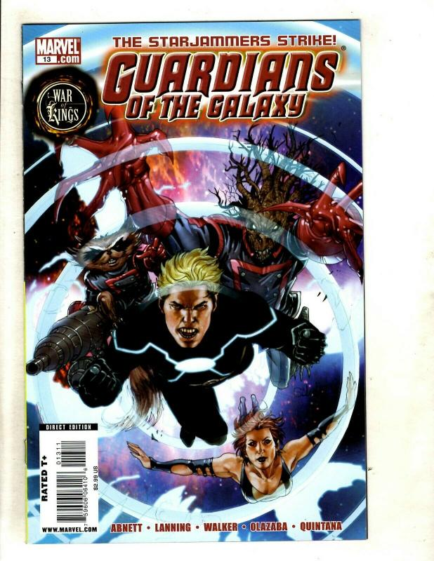 Lot Of 6 Guardians Of The Galaxy Marvel Comic Books # 13 14 15 16 17 18 NM SM8