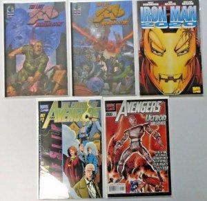 Avengers Prestige Lot 5 Different 8.0 VF