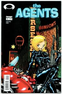 Agents #5 (Image, 2003) VF/NM
