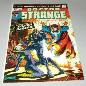 Doctor Strange #5 FN+ 1974 Marvel Comic Book Silver Dagger App. Frank Brunner