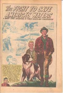 Fight to Save America's Waters Mark Trail(1956)Uncirc COMICS BOOK