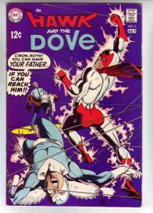 Hawk and the Dove, The #6 (Jul-69) VF- High-Grade Hawk and Dove
