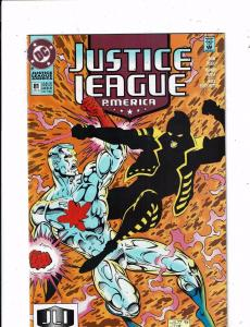 Lot of 5 Justice League America DC Comic Books #81 82 83 99 100 TW44