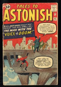 Tales To Astonish #42 GD 2.0
