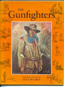 Gunfighters 1998-Lea McCarty-full page paintings of western gunfighters-Wyatt...