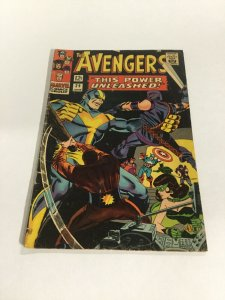 Avengers 29 Vg Very Good 4.0 Marvel Silver Age