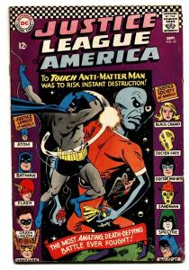 JUSTICE LEAGUE OF AMERICA #47 comic book ATOM BLACK CANARY BATMAN FN