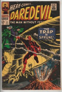 Daredevil #21 (Oct-66) FN- Mid-Grade Daredevil