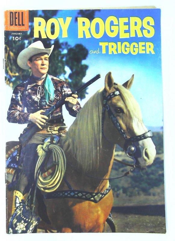 Roy Rogers Comics (1948 series) #97, Fine+ (Actual scan)