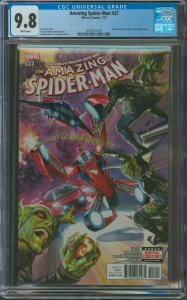 Amazing Spider-Man #25 CGC Graded 9.8 Norman Osborn & Silver Sable appearance