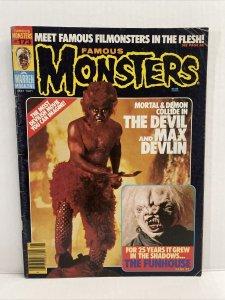 Famous Monsters  #173 1981 Warren Magazine