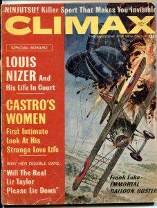 Climax Magazine November 1963- Castro's Women- Ninjustsu