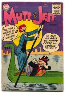 Mutt and Jeff #83 1955- Bud Fisher- DC Comics VG