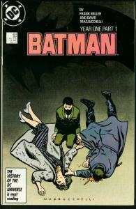 BATMAN #404-1987-DC GOTHAM TV SERIES-HOT ISSUE