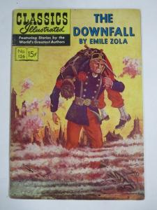CLASSIC ILLUSTRATED #126 (VG) THE DOWNFALL (1ST Edition, NO HRN) May 1955