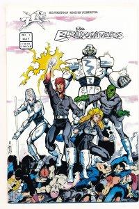 Eradicators (1986 SilverWolf) #1-4 VF- to NM+ Complete series