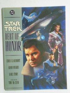 Star Trek Debt of Honor GN #1 1st print 8.0 VF (1992)