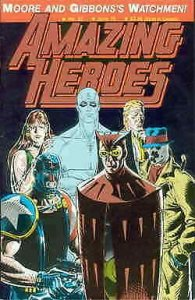 Amazing Heroes #97 FN; Fantagraphics   save on shipping - details inside