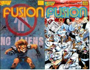 FUSION (ECLIPSE) 8-9  Spring Rolls 2-part story arc!