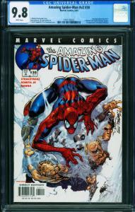 AMAZING SPIDER-MAN Vol 2 #30-CGC 9.8 1st  Ezekiel & Morlun 1991126022
