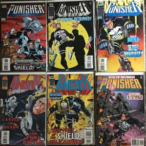 PUNISHER (3RD SERIES 1996) MARVEL #7-12 SEE DESCRIPTION ALL NM CONDITION