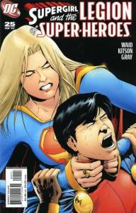 Supergirl and the Legion of Super-Heroes #25, NM + (Stock photo)