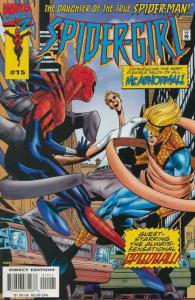 Spider-Girl #15 VF/NM; Marvel   save on shipping - details inside