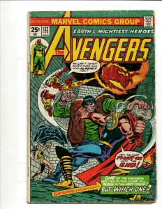 Avengers # 132 VG Marvel Comic Book Hulk Thor Iron Man Captain America BJ1