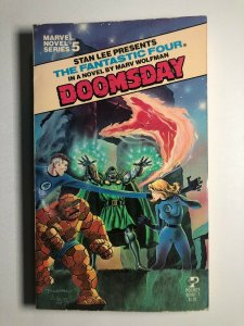 Marvel Novel Series #5 Fantastic Four DOOMSDAY paperback