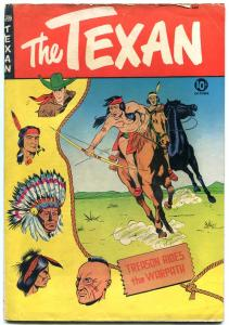 The Texan #10 1950- Golden Age Western St John VG/F