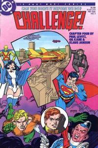 DC Challenge #4, NM (Stock photo)