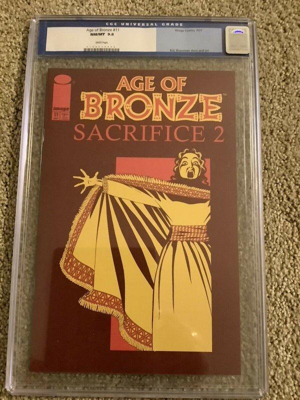 AGE OF BRONZE #11 CGC 9.8  (IMAGE) (SHANOWER) (1998 Series)