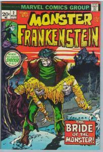 Frankenstein 2 Mar 1973 VF (8.0)