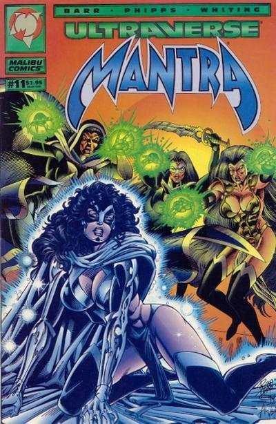 Mantra (1993 series) #11, NM- (Stock photo)